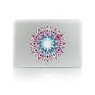 1 szt. Odporne na zadrapania Kwiaty Przezroczysty plastik Naklejka na obudowę Świecące w ciemności Wzorki NaMacBook Pro 15'' with Retina