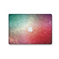 1 db Karcolásvédő 3D Átlátszó szintetikus Matrica Sötétben világító Minta MertMacBook Pro 15'' with Retina MacBook Pro 15 '' MacBook Pro