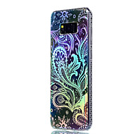 Til Samsung Galaxy S8 Plus S8 Cover Cover Plating Translucent Pattern Back Cover Scenery Soft TPU S7 Kanten S7