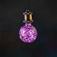 3W E27 LED-gloeilampen G95 33 Geïntegreerde LED 300 lm Roze Decoratief AC 85-265 V 1 stuks