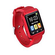 Męskie Sportowy Inteligentny zegarek Zegarek na nadgarstek Cyfrowe LED Pilot Silikon Pasmo Z Wisorkami Czarny Biały Czerwony