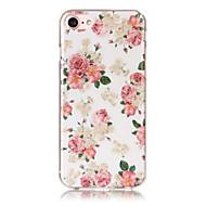 For Apple iPhone Se / 5s 5 etui deksel gjennomsiktig mønster bakside cover sexy lady soft tpu