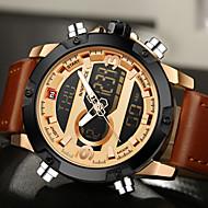 NAVIFORCE Herre Sportsklokke Militærklokke Moteklokke Armbåndsur Unike kreative Watch Hverdagsklokke Digital Watch Japansk Quartz Digital