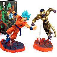 Anime Akciófigurák Ihlette Dragon Ball Son Goku PVC 12 CM Modell játékok Doll Toy