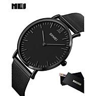 Męskie Sportowy Do sukni/garnituru Inteligentny zegarek Modny Zegarek na nadgarstek Chiński Kwarcowy LED Kalendarz Duża tarcza Metal Pasmo