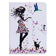 Pudełko na ipad powietrze 2 pro 9,7 '' pokrowiec na torby sexy lady wzór pu materiał triple tablet pc case skrzynka na telefon ipad 2 3 4