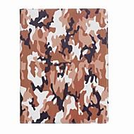 Voor ipad (2017) hoesje hoesje kaarthouder camouflage kleur patroon hoesje hoesje hard pu leer voor ipad pro10.5 ipad pro 9,7 ipad lucht