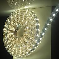 6m / 1 Adet 5050 esnek bant ip ışık şeridi Noel su geçirmez bahçe açık lightingeu eu fiş dış mekan LED 220V