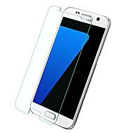 Σκληρυμένο Γυαλί Προστατευτικό οθόνης για Samsung Galaxy S7 Προστατευτικό μπροστινής οθόνης Υψηλή Ανάλυση (HD) Επίπεδο σκληρότητας 9H