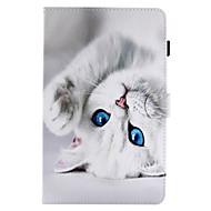 az esetleges fedél kártyatulajdonos pénztárca állvánnyal flip minta teljes karosszériával macska kemény pu bőr a samsung fülre e 9.6 lap