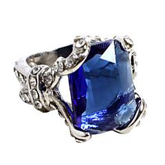 Mücevher Esinlenen Black Butler Ciel Phantomhive Anime Cosplay Aksesuarları halka Mavi / Gümüş Alaşım / Suni Değerli Taş Erkek