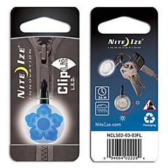 Nite Ize ποδήλατο cliplit φωτός ασφάλειας (σχέδιο λουλουδιών)