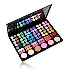 78 Oogschaduwpalet Mat / Glinstering Oogschaduw palet Poeder Normaal Dagelijkse make-up / Feeërieke make-up
