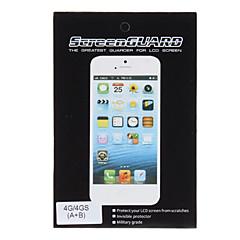 2 X Blændfri LCD-skærm og bagside Protector Sæt til iPhone 4/4S