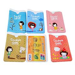 cookies pige mønster kreditkort hele kroppen sag (tilfældig farve)