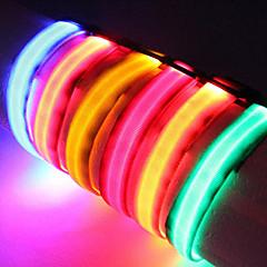 Yakalar LED Işıklar Ayarlanabilir/İçeri Çekilebilir Solid Naylon