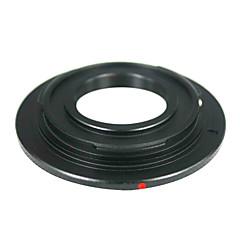 Canon EOS m kamera lens adaptörü halkası cctv lens siyah c-mount sine film lens