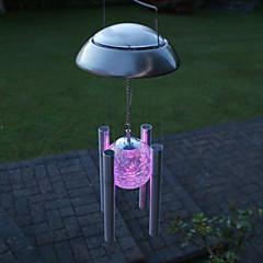 Kleurrijk licht LED Solar Light Outdoor Solar Wind Chime Light