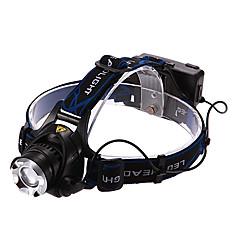 Pandelamper LED 900/1600/1200/450 Lumen 3 Tilstand Cree XM-L T6 Cree XM-L2 T6 Genopladelig for Multifunktion