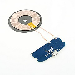 DIY universal Qi Standard Wireless Charger Round modulului transmițător pentru N7100 / S3/S4/S5