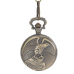Herre Lommeure Quartz Bånd Bronze Bronze
