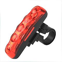 Bisiklet Işıkları Bisiklet Işıkları / Arka Bisiklet Işık LED Su Geçirmez / Darbeye Dayanıklı / arka Lümen Pil Kırmızı Bisiklete biniciliği