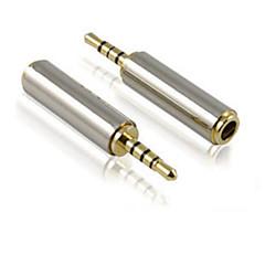 2.5mm erkek 3.5mm dişi cep telefonu / kulaklık adaptörü