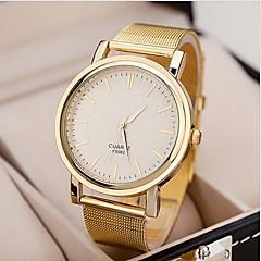 Mulheres Relógio Elegante Relógio de Pulso Quartzo Lega Banda Dourada