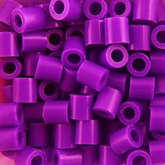 아이 공예에 대한 약은 500PCS / 가방 5mm 보라색 퓨즈 비즈 하마 비즈 DIY 퍼즐 EVA 소재의 추구한다