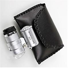 6 * 5 * 3cm 45 ayarlanabilir led ışık mikroskop