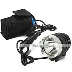 LED-Zaklampen Handzaklampen LED 2200 Lumens 3 Modus Cree XM-L U2 18650 Oplaadbaar Waterbestendig Kamperen/wandelen/grotten verkennen