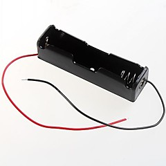 3.7V 1 x 18.650 akkumulátor tartó ügyben doboz (2db)