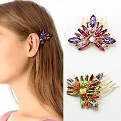 z&X® elegante luksuriøse flerfarvet hår (2 farver muligheder: lilla, grøn)