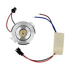 1W Mennyezeti izzók Süllyesztett 1 Nagyteljesítményű LED 110 lm Meleg fehér Dekoratív AC 85-265 V