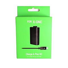 bateria recarregável com usb para dc cabo de carregamento para xbox microsoft um controlador wireless