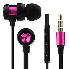 JTX-jl701 3.5mm redukcji szumów z mikrofonu regulacja głośności słuchawki w ucho dla iPhone i innych telefonów