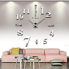 거실 12s015-S에 대 한 3d 큰 정신적 홈 인테리어 DIY 창조적 인 개성 벽 시계