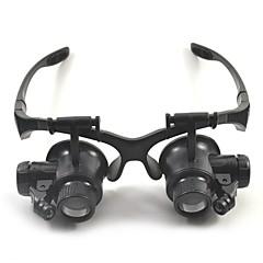 Κιάλια Μεγεθυντικοί Φακοί Υψηλή Ανάλυση Ακουστικά Γενικός 10X / 15X / 20X / 25X 15mm