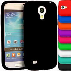 μεγάλη δ γέλη πυριτίου μαλακή θήκη για το Samsung Galaxy S4 mini i9190 (διάφορα χρώματα)