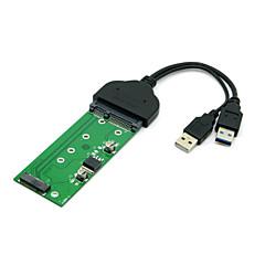 """usb 3.0 e431 e531 X240 y410p Y510 için ngff pci-e 2 şeritli SSD M.2 2.5 """"SATA sabit disk için"""