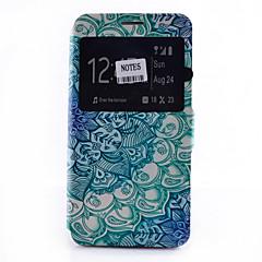 Na Samsung Galaxy Note Etui na karty / Z podpórką / Z okienkiem / Flip / Wzór Kılıf Futerał Kılıf Mandala Miękkie Skóra PU SamsungNote 5