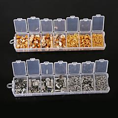 beadia 1 szt mody odkrycia biżuteria złota&rodowane pierścienie skoku& Zamki homara& Łańcuchy rozszerzeń& zaślepki
