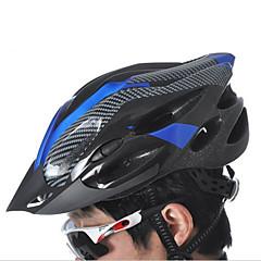 Sporlar Unisex Bisiklet Kask 21 Delikler Bisiklet Bisiklete biniciliği Dağ Bisikletçiliği Tırmanma Tek Beden PC EPS PVCSarı Beyaz Kırmızı