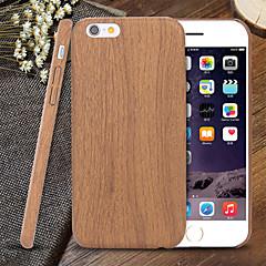 Mert iPhone 5 tok Ultra-vékeny / Minta Case Hátlap Case Fa mintázat Puha TPU iPhone SE/5s/5