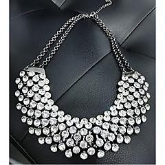 Dames Kraag Bergkristal Edelsteen Modieus Europees Kostuum juwelen Sieraden Voor