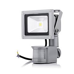 10W Reflektory LED 1 High Power LED 2800-6500 lm Ciepła biel / Zimna biel Czujnik AC 85-265 V 1 sztuka