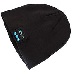 Varm Beanie Hue Trådløs Bluetooth Smart Kasket Hovedtelefon Headset Højttaler Mikrofon Til Iphone Sumsung Mobiltelefon