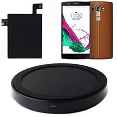 tip C qi încărcător wireless de încărcare mat planșa + autocolant cu receptor pentru lg g4 NFC