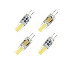 4 x g4 gz4 mr11 mr16 4w safiiri led 250-300lm lämmin valkoinen / viileä valkoinen vesitiivis led maissi bulbs dc / ac12-16v