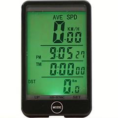 Mountain bike / Treking bicikli / BMX / Örökhajtós kerékpár / Szórakoztató biciklizés Kerékpár computerUtazáshossz mérő / háttérvilágítás
